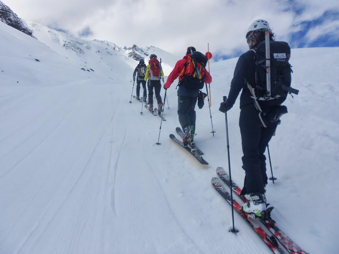 esqui de travesia en sierra nevada