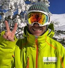 German monitor de snowboard en sierra nevada
