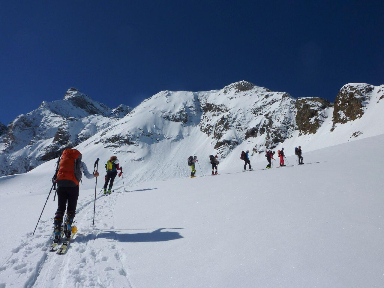 curso de esqui de montaña en sierra nevada