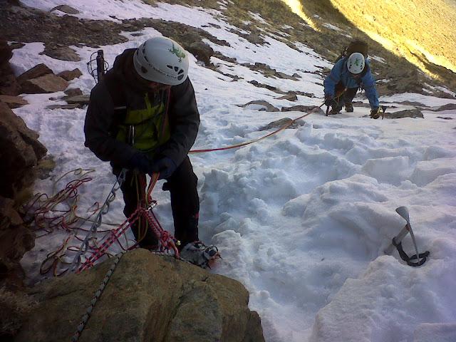 curso de alpinismo, montañismo