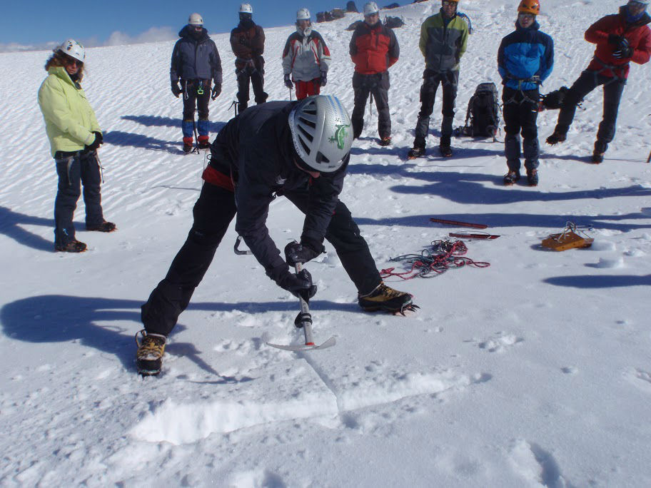 Iniciacion al alpinismo al andalus activa