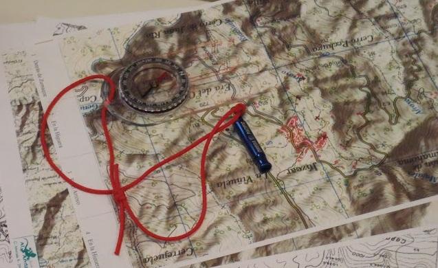 cursos de orientación, gps y cartografía en sierra nevada