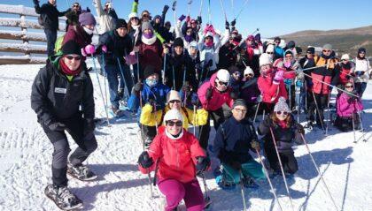 escursiones de raquetas en sierra nevada