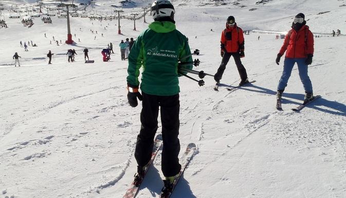 clases de esqui en sierra nevada, cursos de esqui en sierra nevada
