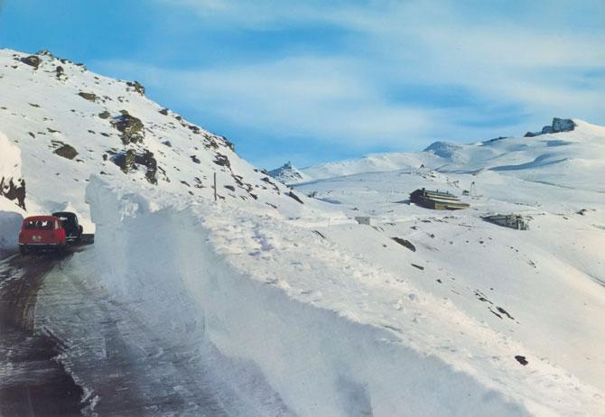 Sierra Nevada años 70 y 80.