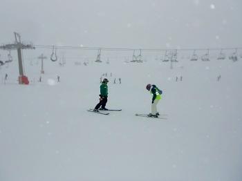 Esquí con Sordociegos