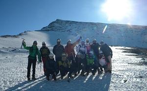 Sierra Nevada y el alpinismo