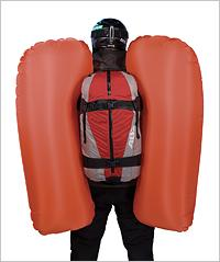 Airbag para avalanchas