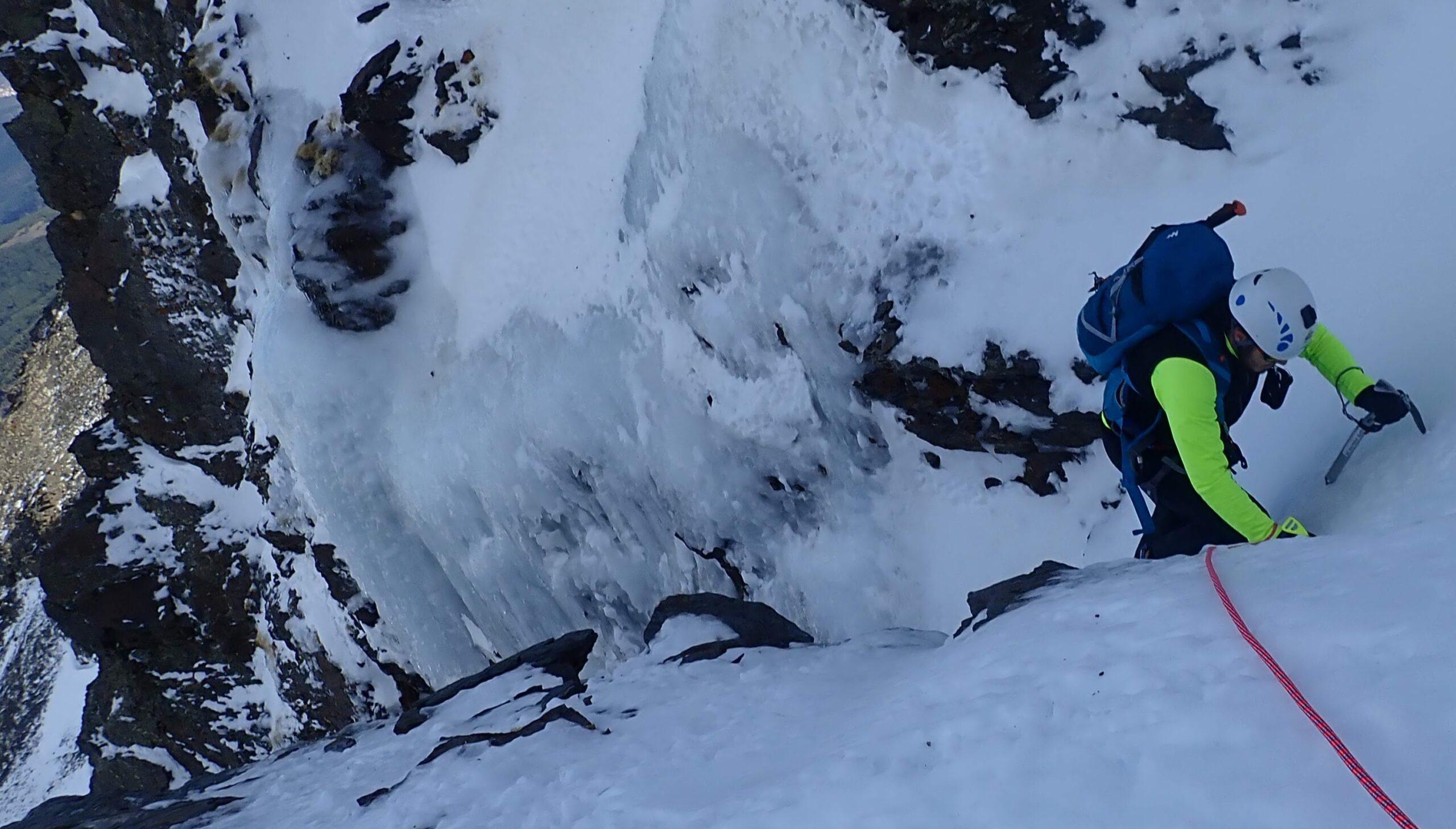 escalada en el alhori sierra nevada