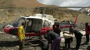 helicóptero rescate sierra nevada