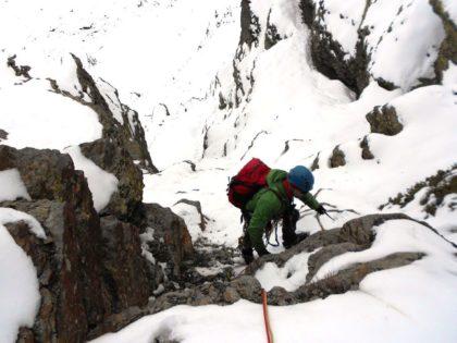 curso de iniciación alpinismo