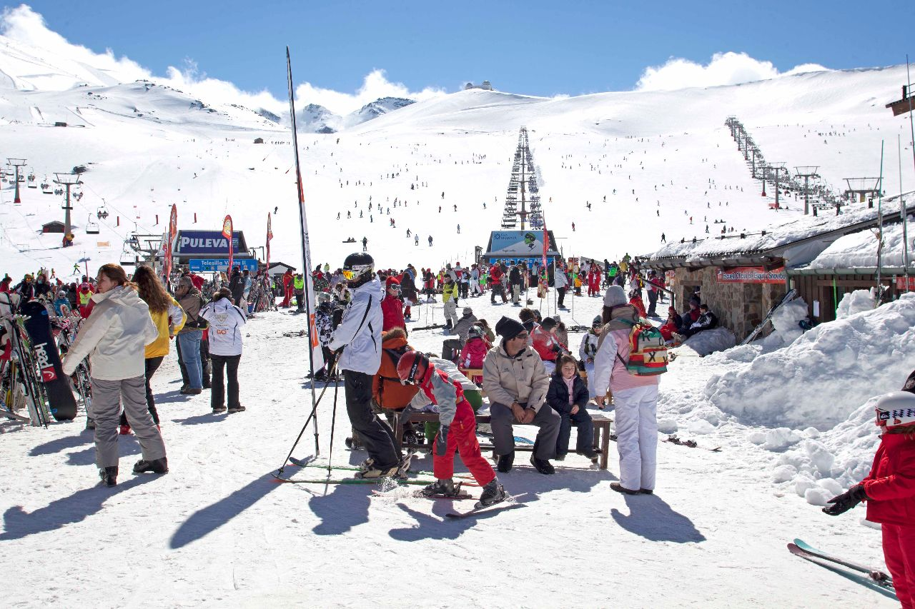 escuela de esquí sierra nevada