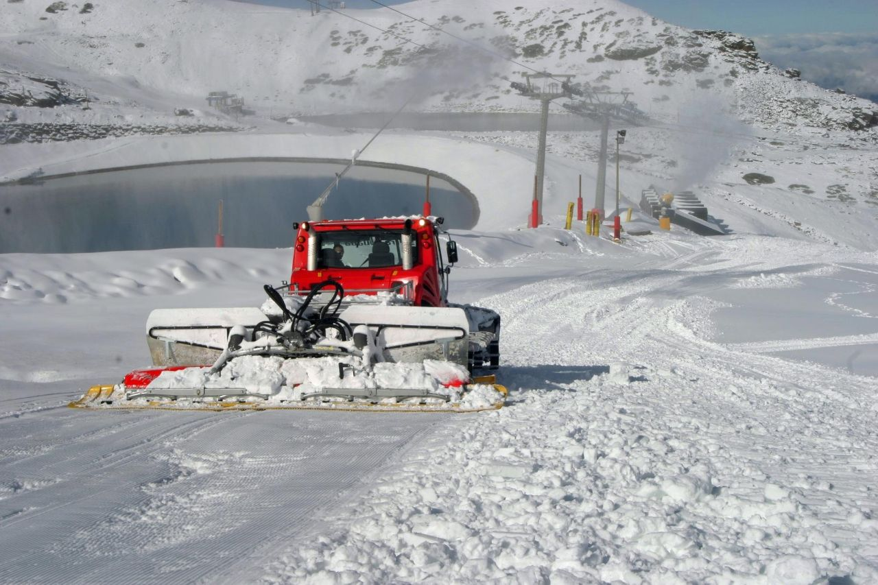 sierra nevada clases de esqui