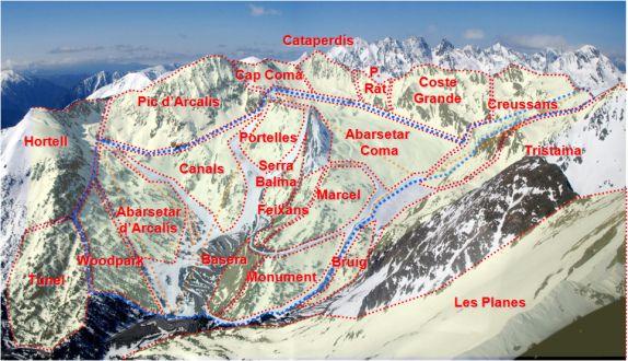 esquí freeride