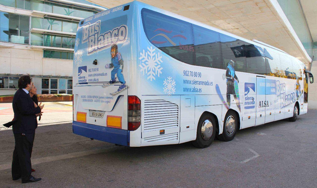 autobus a Sierra Nevada