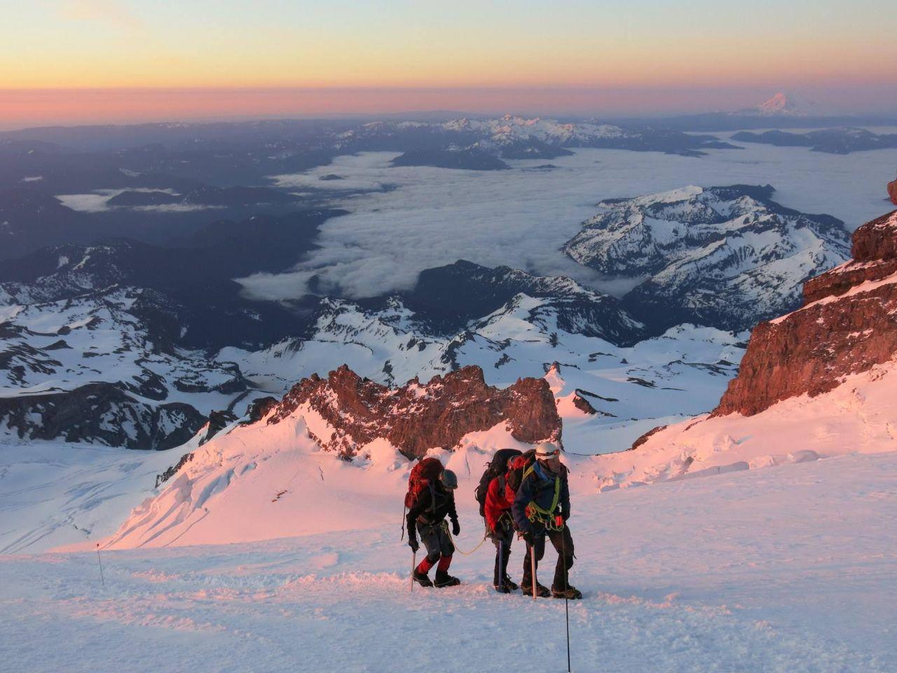 curso alpinismo sierra nevdada