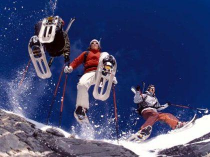 rutas con raquetas de nieve en sierra nevada