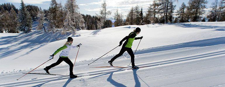 Esquí de fondo en Sierra Nevada