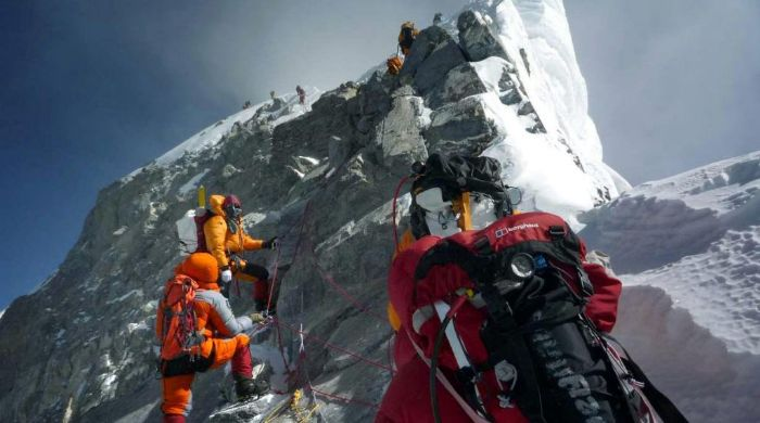 sherpas en el everest