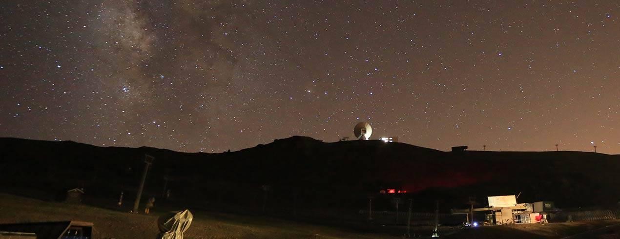 lluvia de estrellas en Sierra Nevada con Al Andlaus Activa