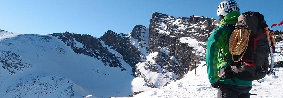 Slider ascension a sierra nevada