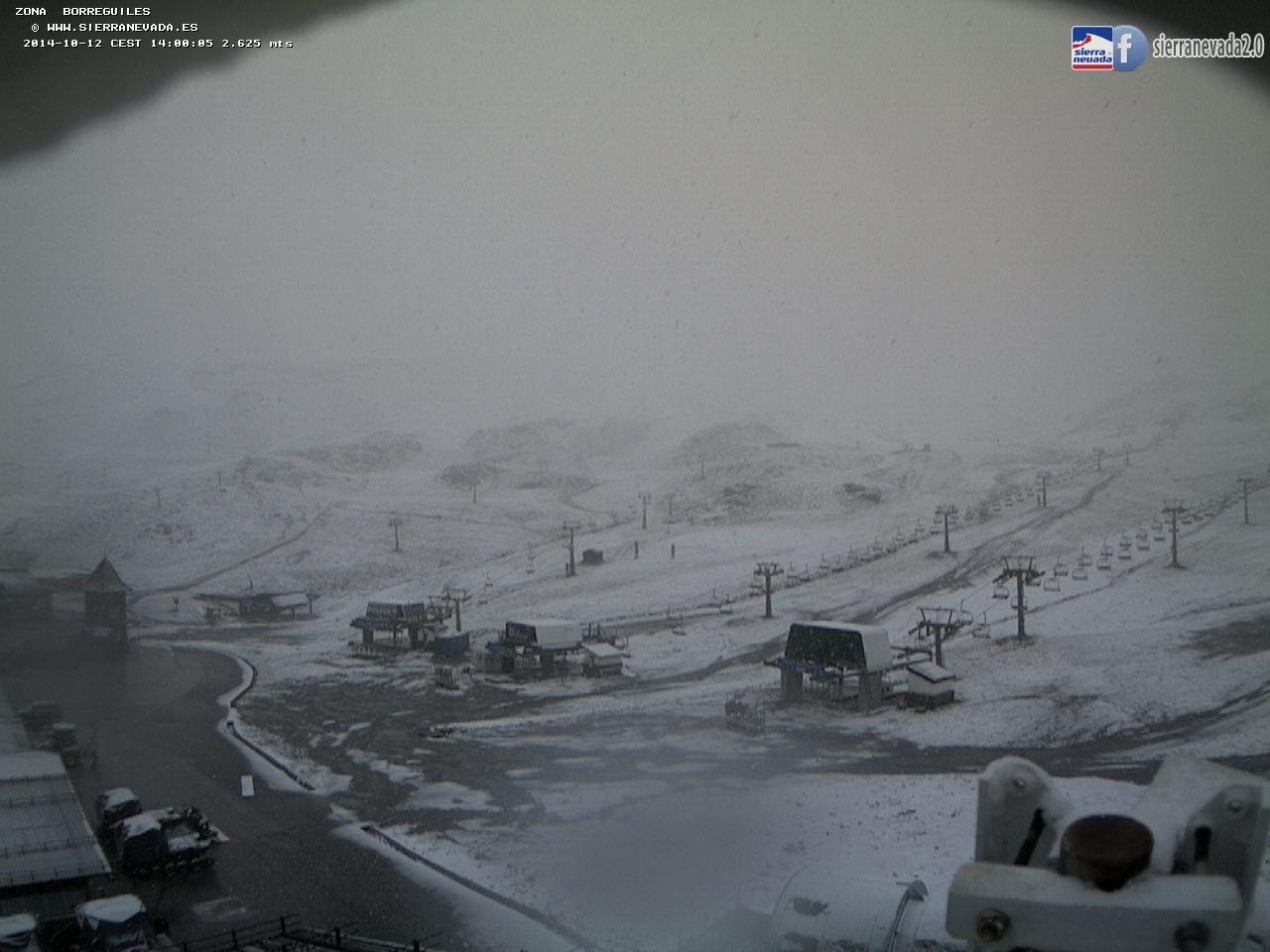 nieva en sierra nevada al andalus activa