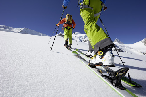 esquí de montaña en sierra nevada