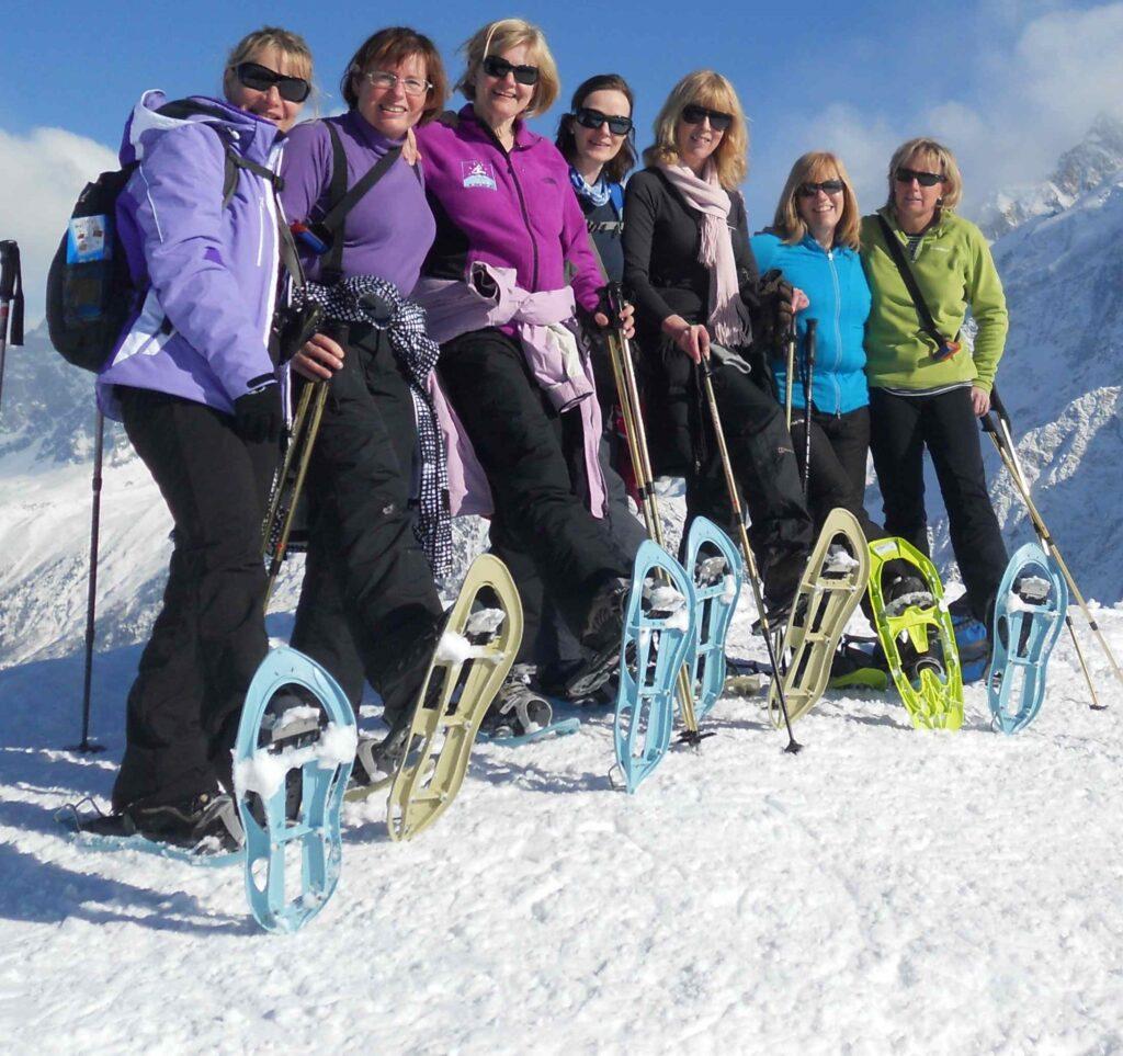 rutas con raquetas por sierra nevada