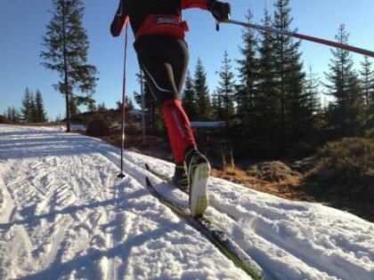 esqui de fondo en sierra nevada con al andalus activa