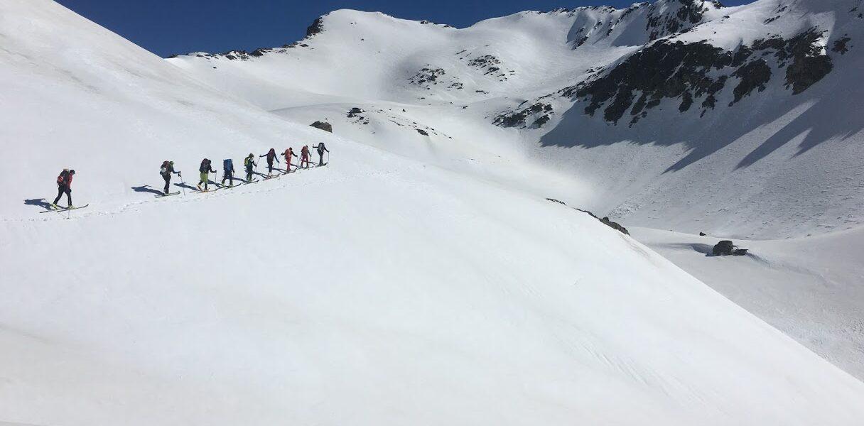 esquí de montaña en pirineos
