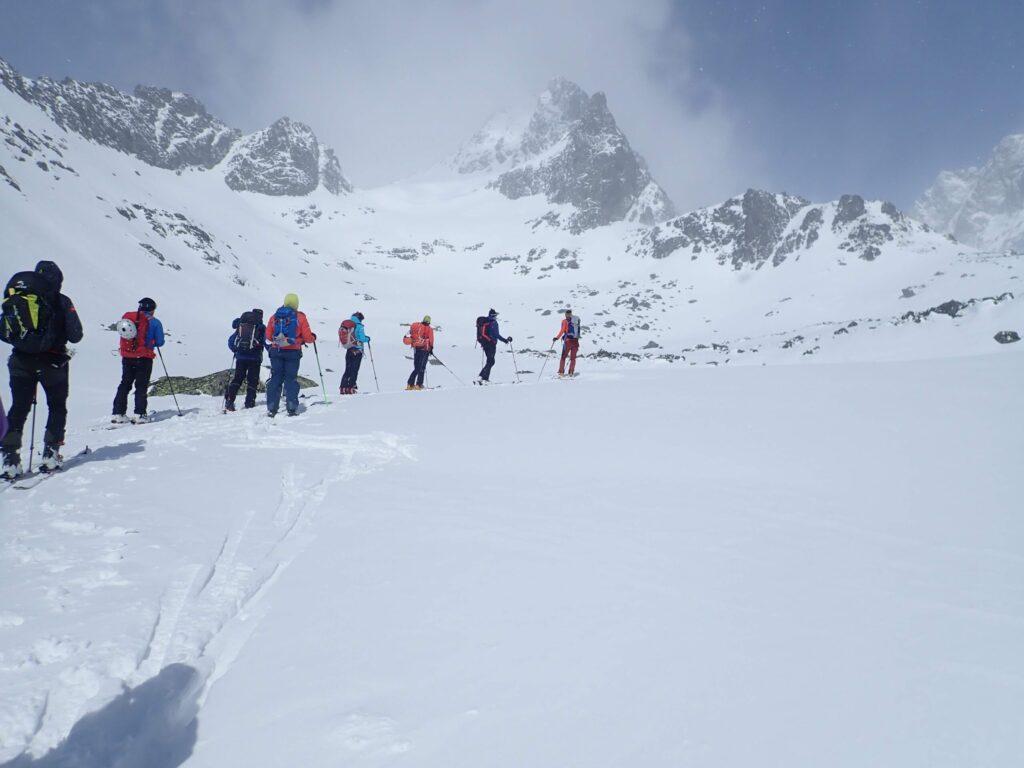 esquí de montaña en Eslovaquia en Tatras